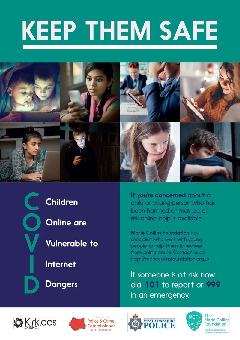 Kirklees Safe Campaign Young Person Poster