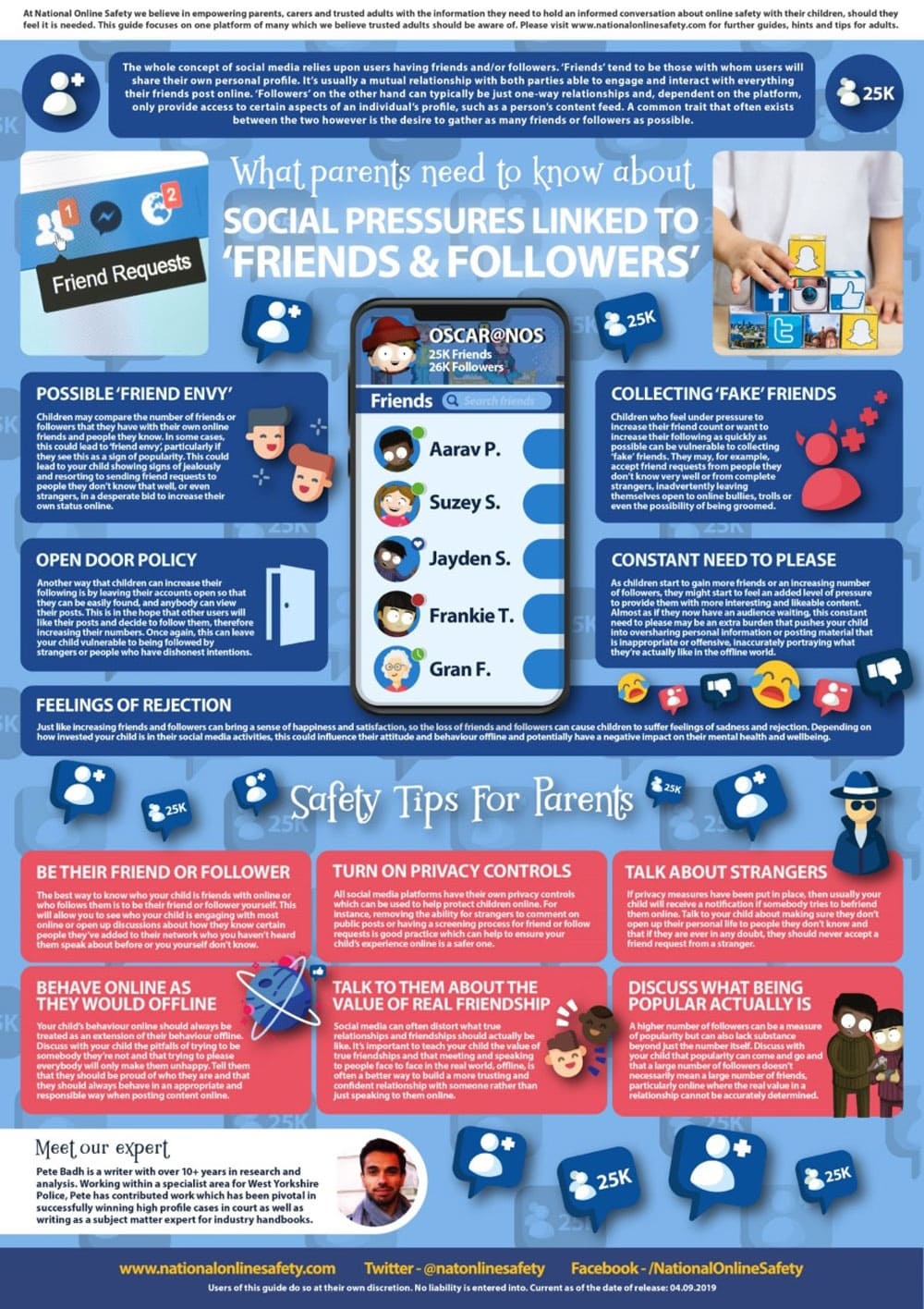 Friends and Followers Poster